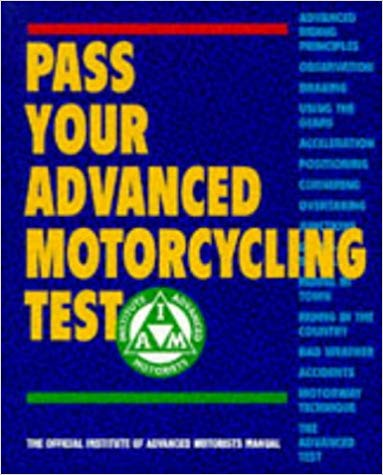 pass advanced motorcycling test book - The 10 Best Motorcycle Technique Books