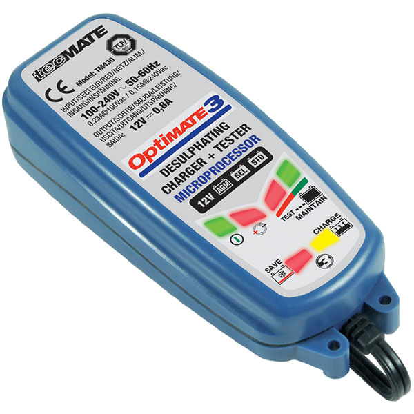 optimate 3 - The Best Motorcycle Battery Chargers