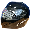 DUCHINNI D832 helmet - SHARP 5-star rated helmets