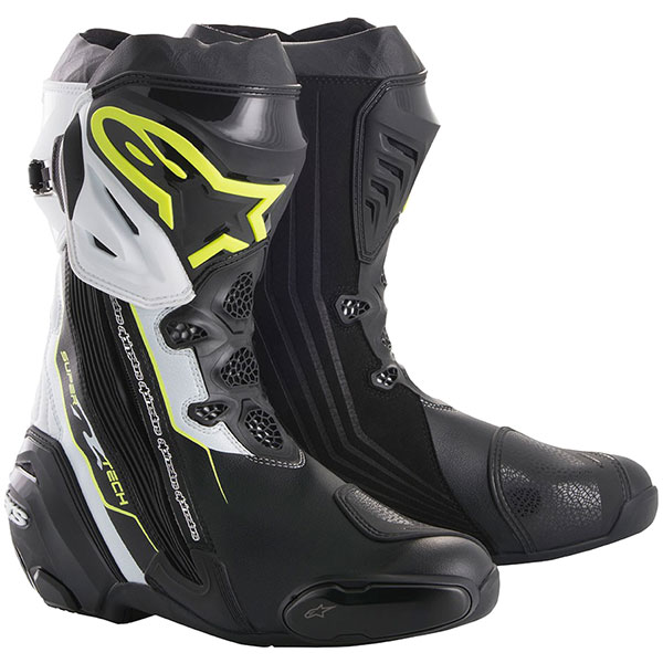 best motorcycle boots alpinestars supertech r boots - The Best Motorcycle Racing Boots