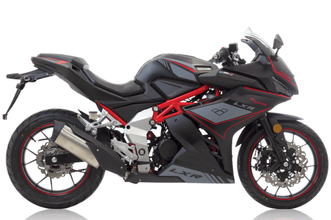 lexmoto lxr125 best sportsbike - Category A1 motorcycle licence guide