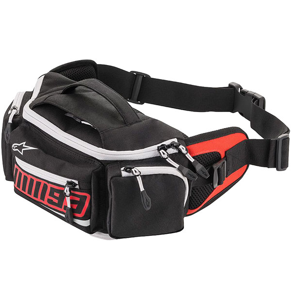alpinestars luggage mm 93 waist bag black red - Showcase: Top Motorcycle Bum Bags