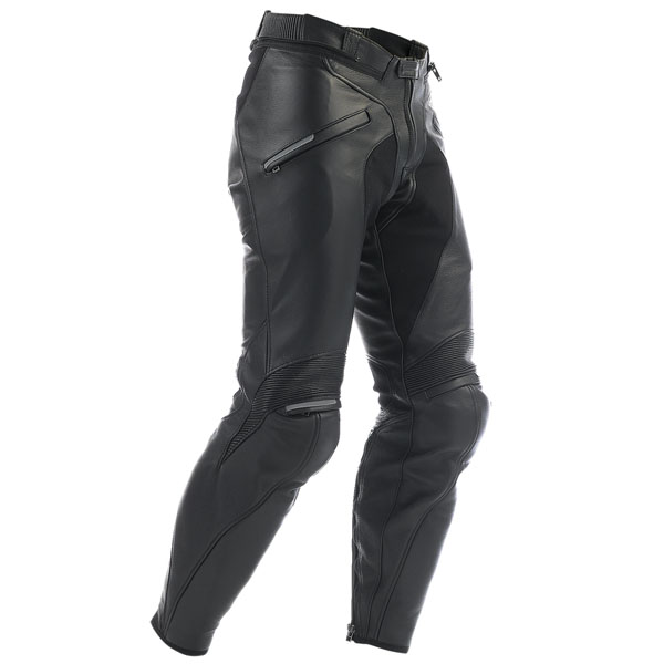 dainese pants leather alien black motorbike trousers - The Best Leather Motorcycle Trousers