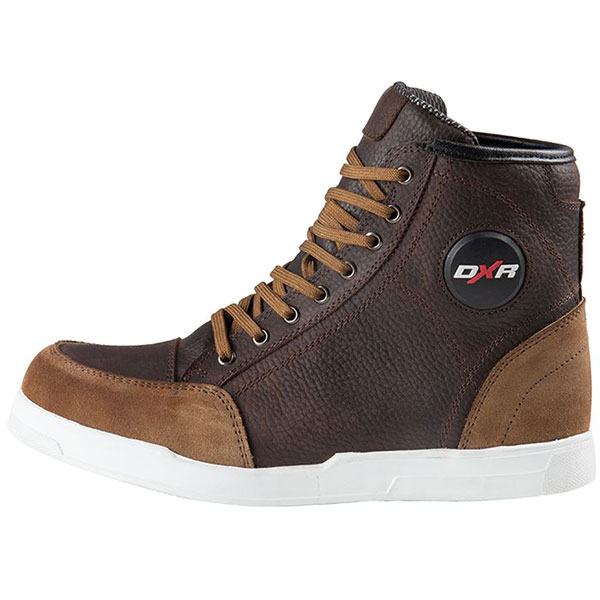 dxr santa cruz leather boots brown scooter waterproof boots - The Best Waterproof Motorcycle Boots