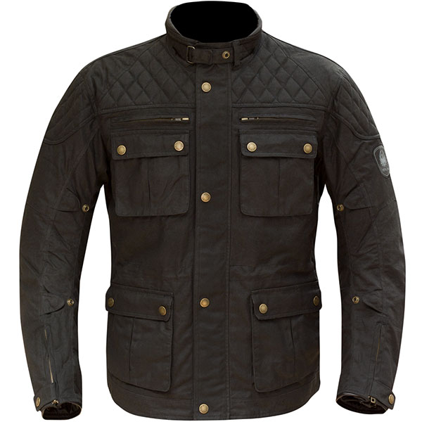 merlin yoxall textile jacket black - Wax Cotton Motorcycle Jackets for Every Budget