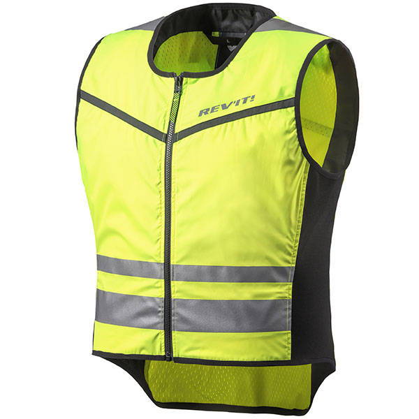 rev it jacket textile athos 2 hi viz jacket - The Best Motorcycle Hi Viz Vests