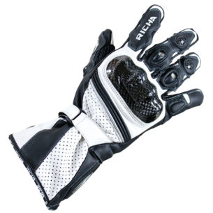 richa glove ravine white 305x305 - The Best Summer Motorcycle Gloves