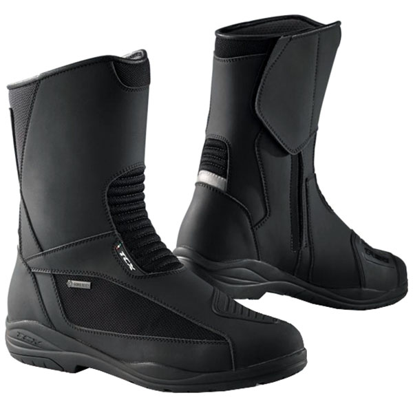 tcx explorer evo gore tex boots dark grey waterproof touring boots - The Best Waterproof Motorcycle Boots