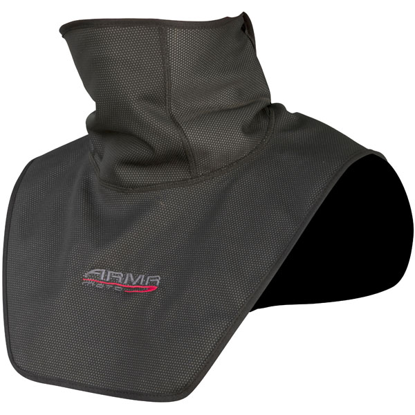 armr moto base layer neck wind guard black motorbike - The Best Motorcycle Neck Warmers