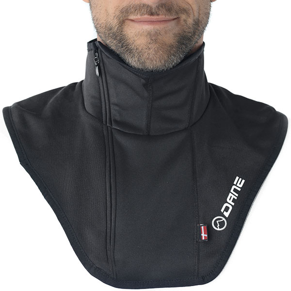 dane base layers neck warmer maribo black motorcycle - The Best Motorcycle Neck Warmers