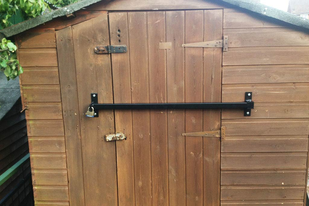 shed bar security 1024x683 - The Best Motorcycle Sheds
