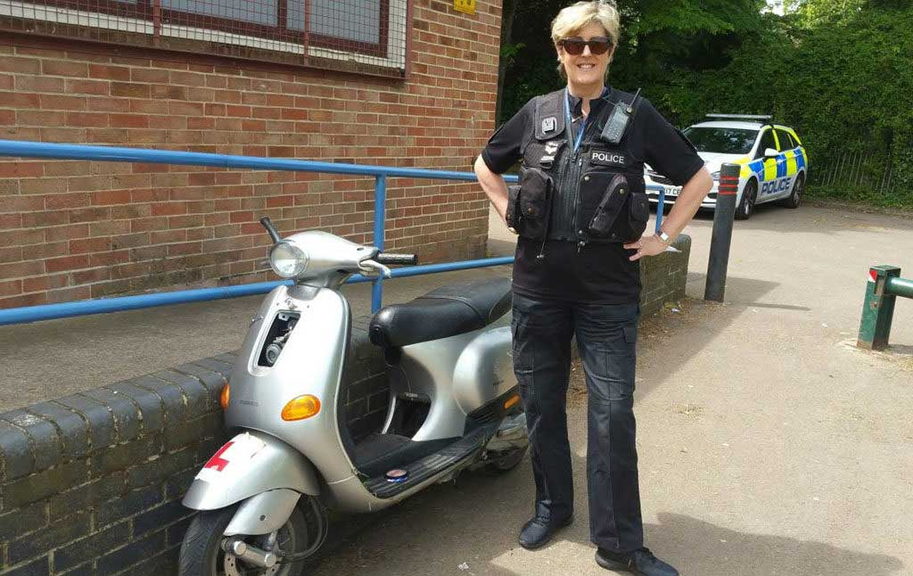 stolen moped uk police 1024x646 - 10 reasons why you'll become a victim of motorcycle crime