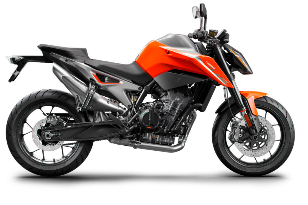 KTM 790 DUKE side 1024x683 - The Best Naked Bikes