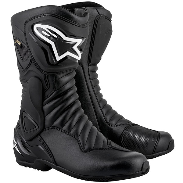 alpinestars boots smx 6 v2 gore tex black - The Best Gore-Tex Motorcycle Boots