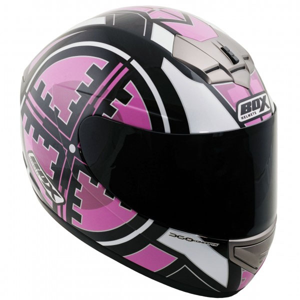 box bx 1 scope pink - Pink Motorcycle Helmets Showcase