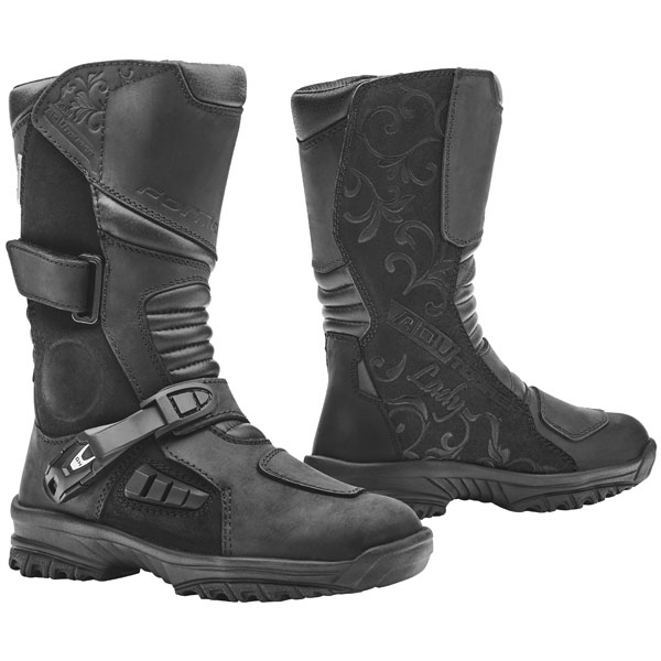 forma ladies boots adv tourer black - Ladies Motorcycle Boots Guide