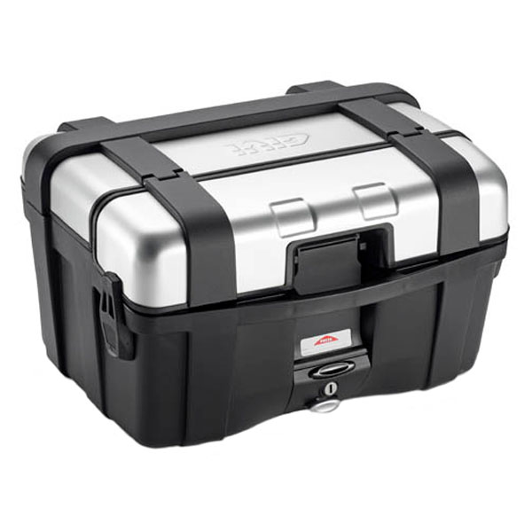 givi luggage hard cases trekker trk46n motorcycle top box aluminium - The Best Motorcycle Top Boxes
