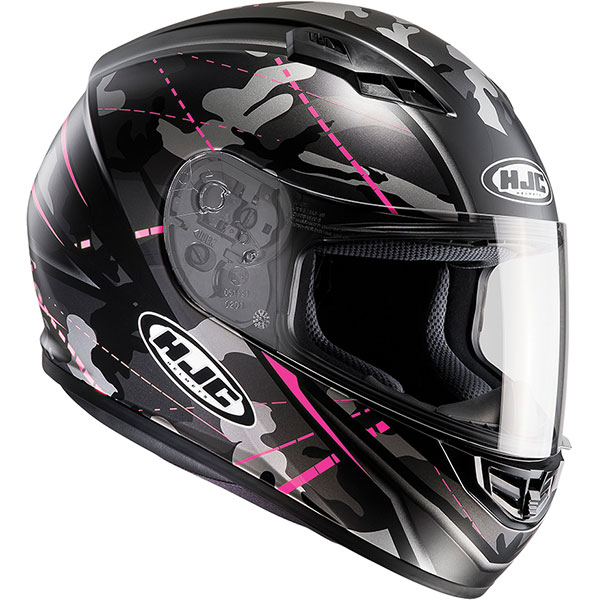 hjc helmet cs 15 songtan black pink - Pink Motorcycle Helmets Showcase