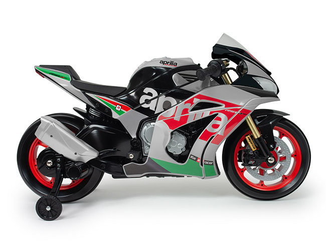 moto aprilia rsv 12v electric superbike - Electric Motorcycles for Kids