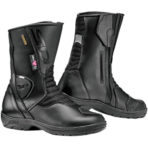 sidi ladies boots gavia gore lady black - Ladies Motorcycle Boots Guide