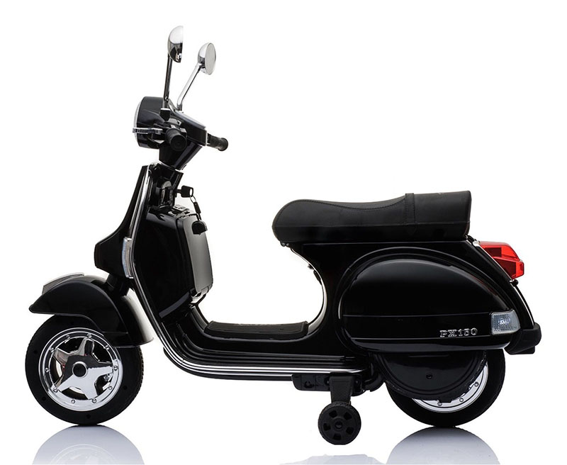 vespa px150 12v ride on electric scooter - Electric Motorcycles for Kids