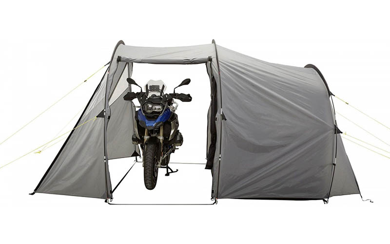 NORDKAP DOUBLE WALLED TUNNEL TENT - The Best Tents for Bikers