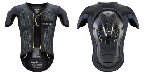 alpinestars tech airbag internal 500x253 - Motorcycle Airbag Options