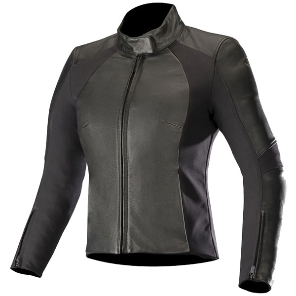 alpinestars textile jacket vika v2 black female - Women's Motorcycle Leathers