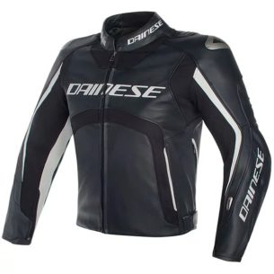 dainese leather jacket d air misano black black white 305x305 - Motorcycle Airbag Options