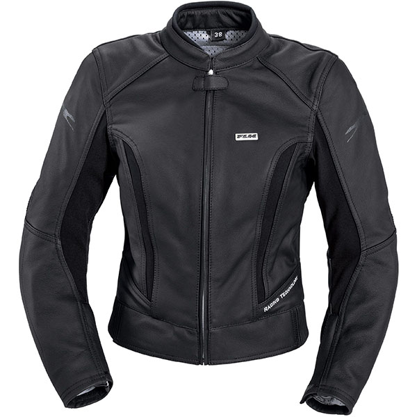 flm ladies t30 leather jacket black female - Women's Motorcycle Leathers