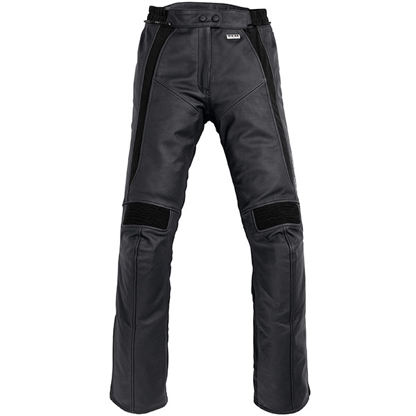 flm ladies t30 leather jeans black female - Women's Motorcycle Leathers