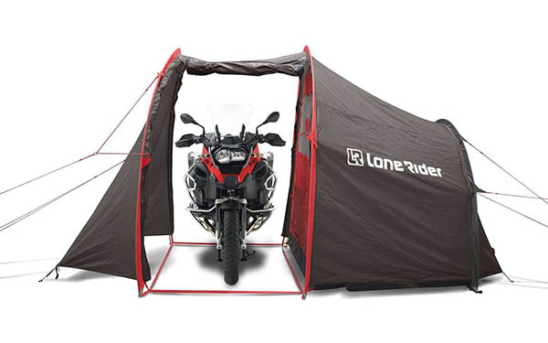 lonerider motorcycle tent storage camping - The Best Tents for Bikers