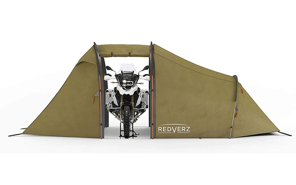 redverz Atacama Green motorcycle tent garage - The Best Tents for Bikers