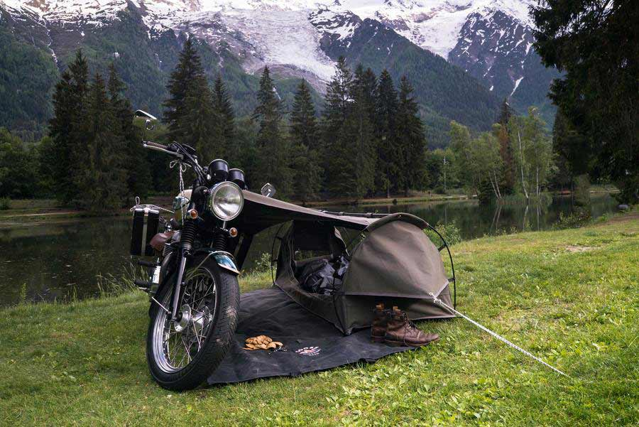 wingman of the road goose motorcycle tent - The Best Tents for Bikers
