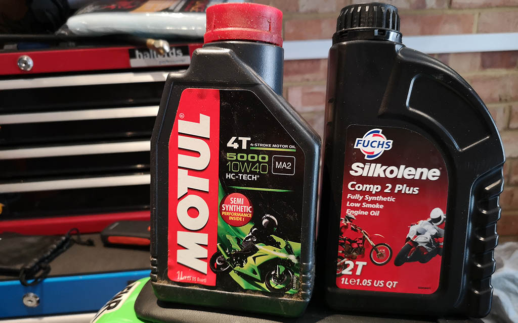 10w40 Motorcycle Oil Guide Biker Rated