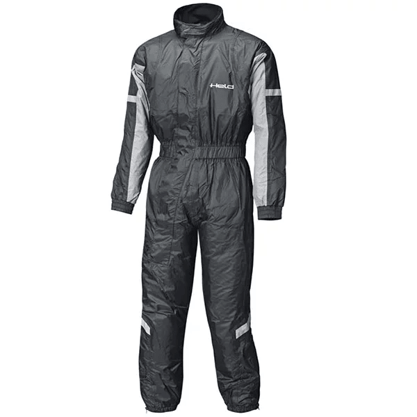 held splash rain suit black silver motorcycle rain suit - The Best Motorcycle Rainsuits
