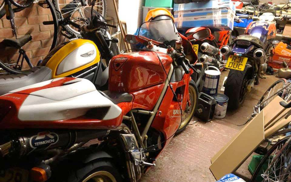 motorcycle garage man cave - Home Motorcycle Garage Guide
