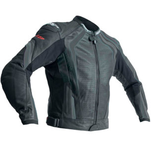 rst r 18 ce leather jacket black black 305x305 - Best Leather Motorcycle Jackets