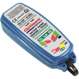 lithium motorcycle battery charger tecmate optimate 0.8a 305x305 - The Best Lithium Motorcycle Battery Charger