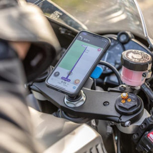 quadlock motorcycle phone holder 305x305 - Motorbike Phone Holders Review
