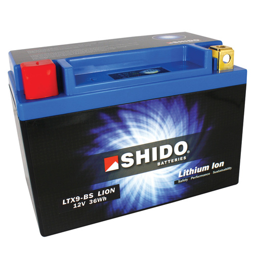 shido lithium motorcycle battery lightweight - Lithium Motorcycle Batteries