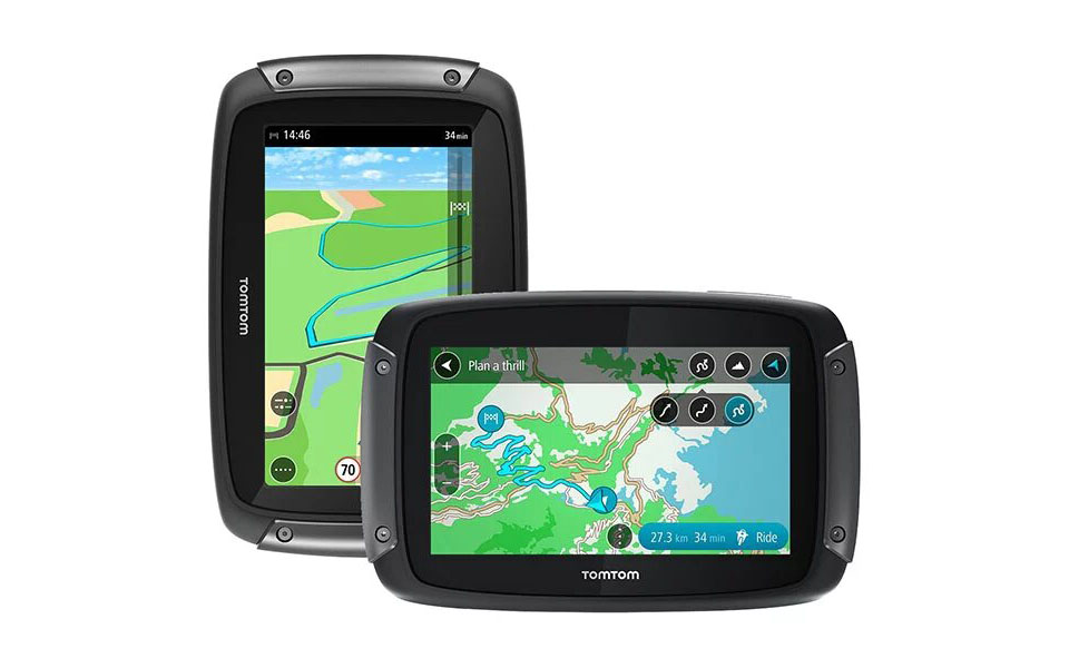 tomtom sat nav rider 50 motorcycle review - Tom Tom Rider 50 review