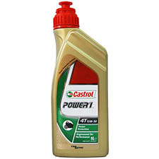 castrol oils power 1 4stroke 15w50 motorcycle engine oil - Honda Motorcycle Engine Oil Selector