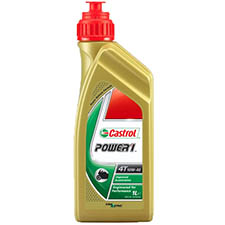 castrol oil power 1 4 stroke 10w40 semi synthetic engine oil - Honda Motorcycle Engine Oil Selector