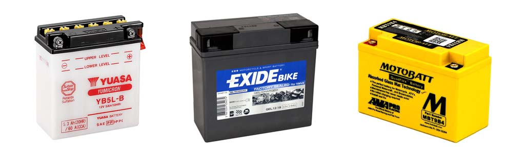 motorcycle battery comparison - Piaggio Replacement Battery Finder
