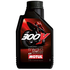 motul oil 4 stroke 300v 5w 30 factory line motorbike engine oil - Triumph Motorcycles Engine Oil Selector